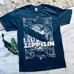 Other - Led Zeppelin Graphic Band Tee Shirt (S)